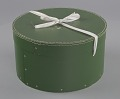 View Green circular hatbox with lid from Mae's Millinery Shop digital asset number 5