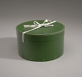 View Green circular hatbox with lid from Mae's Millinery Shop digital asset number 7