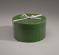 View Green circular hatbox with lid from Mae's Millinery Shop digital asset number 8