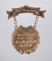 View Service Award pin for Mary Church Terrell from the NACW digital asset number 0
