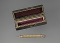 View Gold pencil and case owned by the Terrell family digital asset number 4
