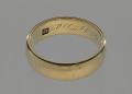 View Wedding ring belonging to Louise Ayers Church digital asset number 0