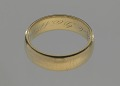 View Wedding ring belonging to Louise Ayers Church digital asset number 1