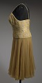 View Yellow cocktail dress designed by Don Loper and worn by Ella Fitzgerald digital asset number 3