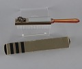 View Plastic brush with box from Mae's Millinery Shop digital asset number 6