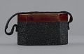 View Black beaded box bag from Mae's Millinery Shop digital asset number 3