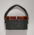 View Black beaded box bag from Mae's Millinery Shop digital asset number 7