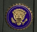 View US Army green service uniform jacket and service medals worn by Colin L. Powell digital asset number 7