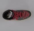 View Pair of red and black Air Jordan I high top sneakers made by Nike digital asset number 10