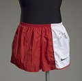 View Running shorts worn and signed by Carl Lewis digital asset number 0
