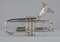 """View """"Pudgy"""" trumpet owned by Dizzy Gillespie digital asset number 9"""
