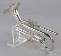 """View """"Pudgy"""" trumpet owned by Dizzy Gillespie digital asset number 13"""