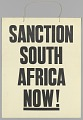 """View Placard reading """"Sanction South Africa Now!"""" digital asset number 0"""