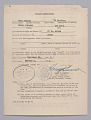 """View Travel Permit for the US Military Duty Train """"Mozart"""" digital asset number 0"""
