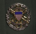 View US Army green service uniform jacket and service medals worn by Colin L. Powell digital asset number 3