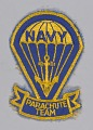 View Navy Parachute Team patch owned by William Goines digital asset number 0