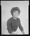 View Studio Portrait of a Woman Sitting, Myra Wilson digital asset number 1
