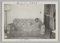 View Photographic print of a woman, Dittie, on a couch with a cigarette digital asset number 0
