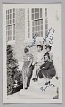 View Photographic print of women, Rosetta, Grace, Ellen, and Ruby, sitting on steps digital asset number 0