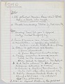 View Handwritten notes for a speech by Harold Williams as NOMA president digital asset number 7
