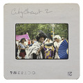 View Photographic slide of Marsha P. Johnson at a New York City Gay Pride Parade digital asset number 1