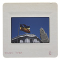 View Photographic slide of a gay pride flag in San Francisco digital asset number 1