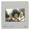 View Photographic slide of Marsha P. Johnson at a New York Gay Pride March digital asset number 1