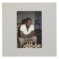 View Photographic slide of Poet Essex Hemphill playing chess digital asset number 1