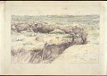View Scroll of Aragon digital asset: Roll of sketches by Harvey Thomas Dunn, Panel 8, 'Seishprey [sic], May 16 [1918]'