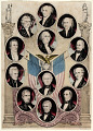 View The Presidents of the United States by Kelloggs & Comstock digital asset: The Presidents of the United States