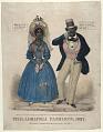 View Philadelphia Fashions, 1837 digital asset: Philadelphia Fashions, 1837