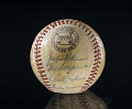 View Baseball, signed by the 1952 Brooklyn Dodgers digital asset number 0