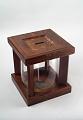 View Glass Ballot Jar with Lockable Wooden Housing, 1884 digital asset number 0