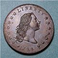 View 1 Dollar, United States, 1794 digital asset number 2