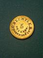 View 5 Dollars, United States, 1834 digital asset number 0