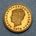 View 4 Dollars, Pattern, United States, 1879 digital asset number 2