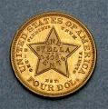 View 4 Dollars, Pattern, United States, 1879 digital asset number 3