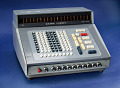 View Sharp Compet CS-10A Electronic Calculator digital asset: Sharp Compet CS-10A Desktop Electronic Calculator, Front Angle View