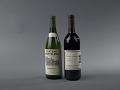 View 1973 Stag's Leap Wine Cellars Cabernet Sauvignon digital asset: Bottles of Chardonnay and Cabernet Sauvignon wine