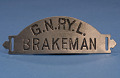 View Railroad Cap Badge, Brakeman, Great Northern Railway digital asset number 0