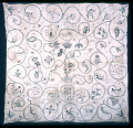 View 1790 - 1795 Martha Soule's Crewel Embroidered Quilt digital asset number 0