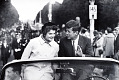 View Photographic History Collection: Carl Mydans digital asset: Senator John F. Kennedy''s campaigns with his wife in Boston