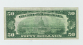 View 50 Dollars, National Bank Note, United States, 1929 digital asset: REVERSE: The Omaha National Bank, 50 Dollars, 1929