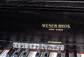 View Weser Bros. Transposing Upright Piano digital asset number 2