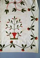 View 1840 - 1860 Sophia Denty's Floral Appliqued Quilt Top digital asset number 1