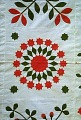 View 1840 - 1860 Sophia Denty's Floral Appliqued Quilt Top digital asset number 4