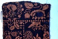 "View ""Liberty"" pattern Jacquard coverlet fragment, 19th century digital asset number 0"