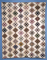 "View 1840 - 1860 ""Rail Fence"" Pieced Bedcover digital asset number 0"