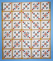 """View 1840 - 1860 Ann's """"Quilt"""" or counterpane; Womack Plantation, Virginia digital asset number 0"""