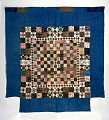 View 1790 - 1810 Copp Family's Framed Center Pieced Quilt digital asset number 0